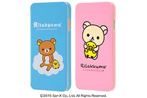 【Apple iPhone 6/iPhone 6s】リラックマ・ブックレザーケース(合皮)