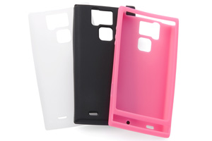 【docomo REGZA Phone T-02D/ARROWS A SoftBank 101F】シルキータッチ・シリコンジャケット