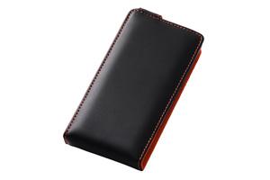 【docomo REGZA Phone T-02D/ARROWS A SoftBank 101F】フラップタイプ・レザージャケット