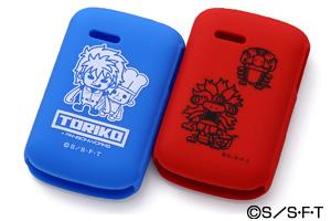 【SoftBank みまもりケータイ2 101Z】トリコ・キャラクター・シリコンジャケット