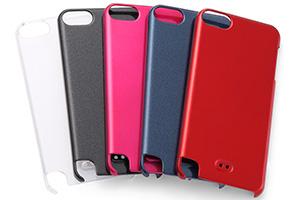 【iPod touch 第5世代(2012)/第5世代 16GB(2014)/第6世代(2015)/第7世代(2019)】ハードコーティング・シェルジャケット