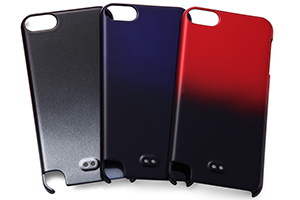 【Apple 5th iPod touch(2012)/5th iPod touch 16GB(2014)/6th iPod touch(2015)】ハードコーティング・グラデーション・シェルジャケット
