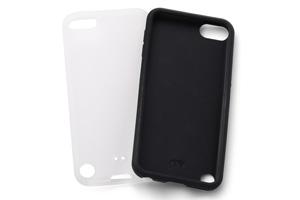 【iPod touch 第5世代(2012)/第5世代 16GB(2014)/第6世代(2015)/第7世代(2019)】シルキータッチ・シリコンジャケット