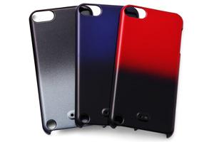 【iPod touch 第5世代(2012)/第5世代 16GB(2014)/第6世代(2015)/第7世代(2019)】ハードコーティング・グラデーション・シェルジャケット