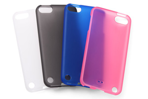 【iPod touch 第5世代(2012)/第5世代 16GB(2014)/第6世代(2015)/第7世代(2019)】ソフトジャケット