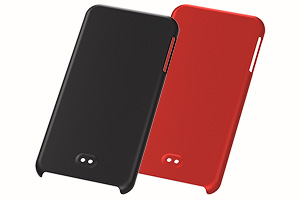 【iPod touch 16GB(2013)】ラバーコーティング・シェルジャケット