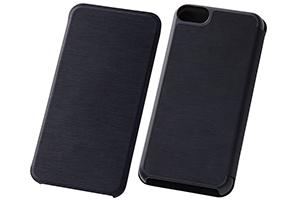 【iPod touch 第5世代(2012)/第5世代 16GB(2014)/第6世代(2015)/第7世代(2019)】スリムレザーケース(合皮)