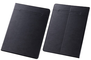 【Lサイズ(10.0-10.6inch程度のタブレット)】汎用スリムレザーケース Lサイズ(合皮)