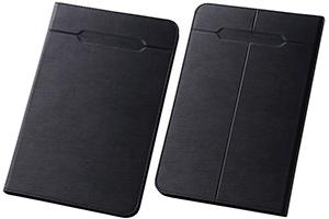 【Mサイズ(8.0-8.4inch程度のタブレット)】汎用スリムレザーケース Mサイズ(合皮)