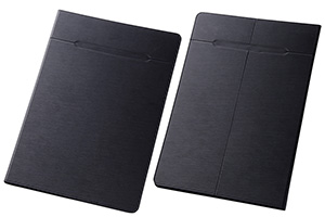 【XLサイズ(11.0-12.0inch程度のタブレット)】汎用スリムレザーケース XLサイズ(合皮)