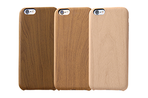 【Apple iPhone 6/iPhone 6s】USLiM STYLISH LEATHER(木目調)