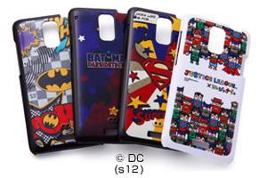 【au htc J ISW13HT】バットマン、スーパーマン、ジャスティスリーグ コレジャナイ・キャラクター・シェルジャケット
