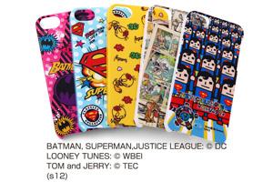 【Apple iPhone SE/iPhone 5s/iPhone 5】バットマン、スーパーマン、トゥイーティー、トム&ジェリー、ジャスティスリーグコレジャナイ・キャラクター・シェルジャケット