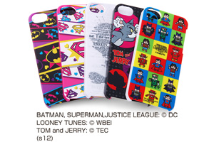 【Apple iPhone SE/iPhone 5s/iPhone 5】バットマン、スーパーマン、トゥイーティー、トム&ジェリー、ジャスティスリーグ コレジャナイ・キャラクター・シェルジャケット