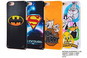 【Apple iPhone 6/iPhone 6s】バットマン、スーパーマン、トム&ジェリー、ルーニー・テューンズ・シェルジャケット