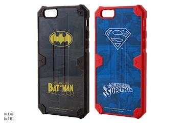 【Apple iPhone 6/iPhone 6s】耐衝撃ケース バットマン・スーパーマン・クラッシュレジスト