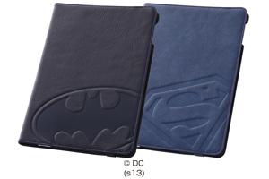 【Apple iPad Air】バットマン、スーパーマン・レザージャケット(合皮タイプ)