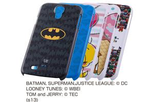 【docomo GALAXY S4 SC-04E】バットマン、スーパーマン、トゥイーティー、ジェリーとリトルフレンズ、ジャスティスリーグ コレジャナイ・キャラクター・シェルジャケット