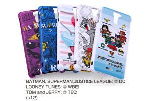 【Xperia™ AX】バットマン、スーパーマン、トゥイーティー、トム&ジェリー、ジャスティスリーグ コレジャナイ・キャラクター・シェルジャケット