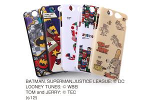 【Xperia? SX】バットマン、スーパーマン、トゥイーティー、トム&ジェリー、ジャスティスリーグ コレジャナイ・キャラクター・シェルジャケット