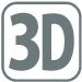 3D立体構造!