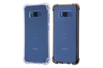 【docomo Galaxy S8 SC-02J/au Galaxy S8 SCV36】ハイブリッドケース 耐衝撃