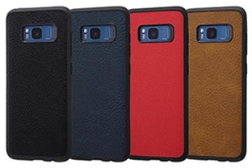 【docomo Galaxy S8 SC-02J/au Galaxy S8 SCV36】オープンレザーケース スマート