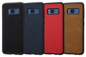 【Galaxy S8】オープンレザーケース スマート