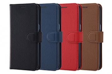 【docomo Galaxy S8 SC-02J/au Galaxy S8 SCV36】手帳型ケース シンプル マグネット