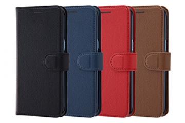 【Galaxy S8】手帳型ケース シンプル マグネット