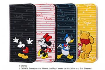 【docomo Galaxy S8 SC-02J/au Galaxy S8 SCV36】ディズニーキャラクター/手帳型ケース スタンディング カーシヴ