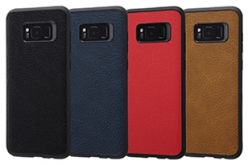 【docomo Galaxy S8+ SC-03J/au Galaxy S8+ SCV35】オープンレザーケース スマート