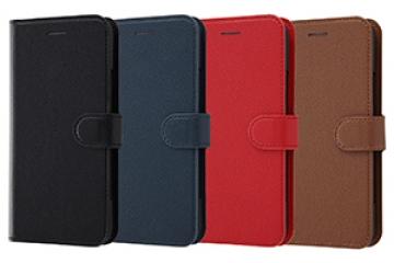 【au HTC U11 HTV33/SoftBank HTC U11】手帳型ケース シンプル マグネット