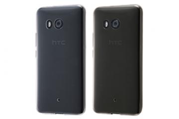 【au HTC U11 HTV33/SoftBank HTC U11】TPUソフトケース 極薄