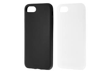 【Apple iPhone 8/iPhone 7】シリコンケース シルキータッチ