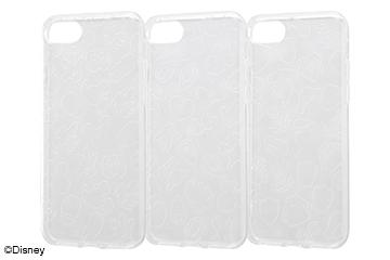 【Apple iPhone SE(第2世代)/iPhone 8/iPhone 7】ディズニーキャラクター/TPUソフトケース キラキラ