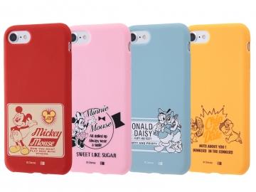 【Apple iPhone 8/iPhone 7】ディズニーキャラクター/シリコンケース