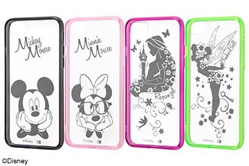 【Apple iPhone SE(第2世代)/iPhone 8/iPhone 7】ディズニー キャラクター/ハイブリッドケース