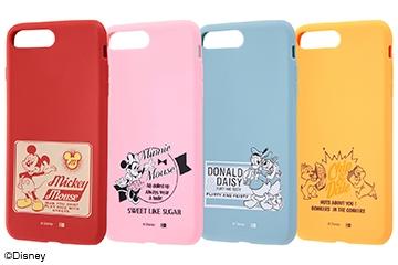 【Apple iPhone 8 Plus/iPhone 7 Plus】ディズニーキャラクター/シリコンケース