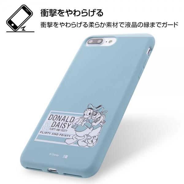 fa598f7344 Apple iPhone 8 Plus/iPhone 7 Plus】ディズニーキャラクター/シリコン ...