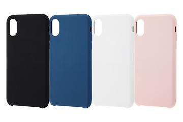 【Apple iPhone XS/X】シリコンケース フィット