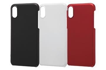 【Apple iPhone XS/X】ハードケース マットコート