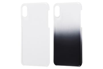 【Apple iPhone X】ハードケース 極薄