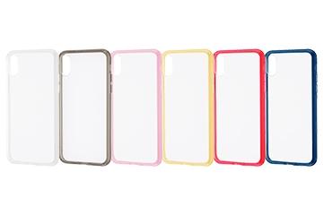 【Apple iPhone XS/X】ハイブリッドケース