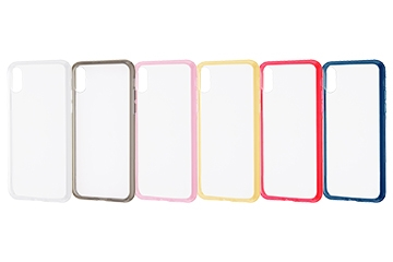【Apple iPhone X】ハイブリッドケース