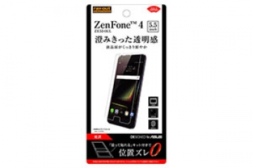 【ASUS ZenFone 4 ZE554KL 5.5inch】フィルム 指紋防止 光沢