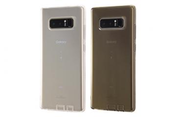 【Galaxy Note8】TPUソフトケース コネクタキャップ付き