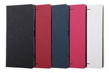 【Xperia™ XZ1】手帳型ケース マグネットタイプ