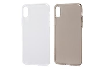 【Apple iPhone XS / iPhone X】ハードケース 軽量 フレキシブル