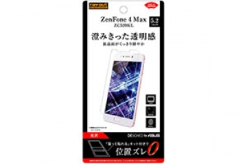 【ZenFone 4 Max ZC520KL】フィルム 指紋防止 光沢